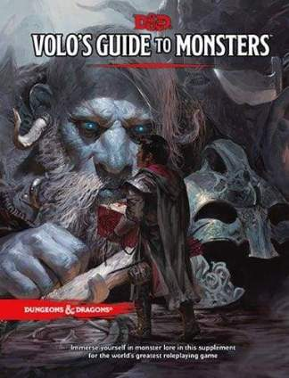 Image Dungeons & Dragons - Volos Guide To Monsters Standard Edition