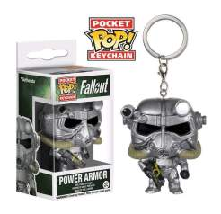 Image Fallout - Power Armour Pop! Keychain