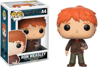 Image Harry Potter - Ron w/Scabbers Pop!
