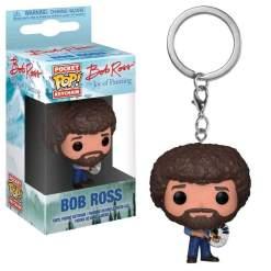 Image Joy of Painting - Bob Ross Pop! Keychain
