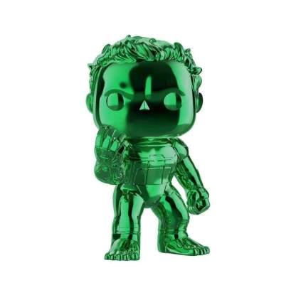 Image Avengers 4: Endgame - Hulk Green Chrome US Exclusive Pop! Vinyl [RS]