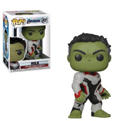 Image Avengers 4: Endgame - Hulk (Team Suit) Pop! Vinyl