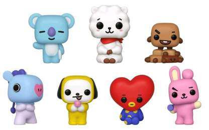 Image BT21 - BT21 US Exclusive Pop! Vinyl 7-Pack [RS]
