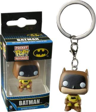Image Batman - 75th Anniv Yellow Pop! Keychain