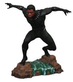 Image Black Panther - Black Panther Unmasked PVC Diorama