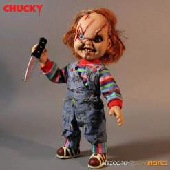 "Image Childs Play - Chucky Scarred 15"" Talking"