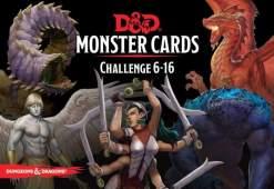 Image D&D Spellbook Cards Monster Deck 6-16 (74 cards)