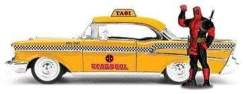 Image Deadpool - Chevy Yellow Taxi 1:24 Scale Hollywood Rides Diecast Vehicle