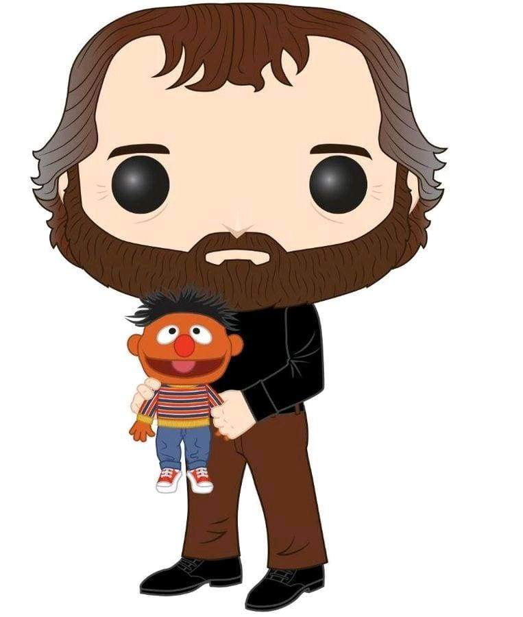 Image Jim Henson - Jim Henson With Ernie (US Exclusive) Pop! Vinyl