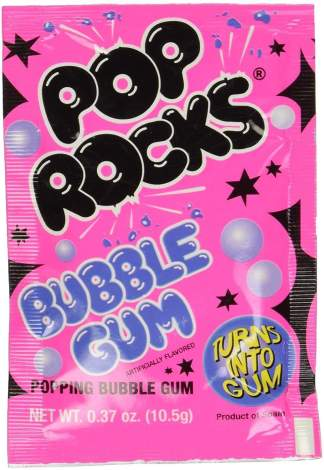 Image Pop Rocks - Bubble Gum Popping Candy Sachet