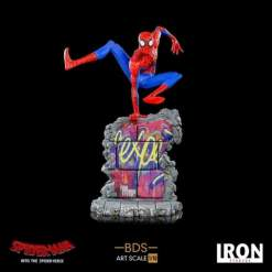 Image Spider-Man: Into the Spider-Verse - Peter B Parker Battle Diorama 1:10 Scale Statue
