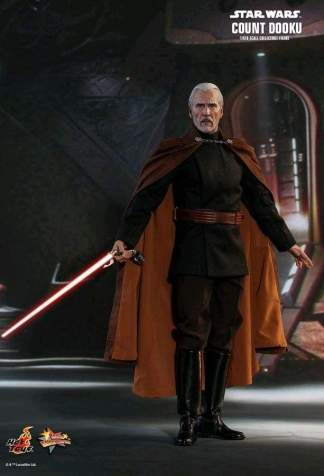 "Image Star Wars - Count Dooku Episode II Attack of the Clones 12"" 1:6 Scale Action Figure"