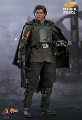 "Image Star Wars: Solo - Han Solo Mudtrooper 12"" 1:6 Scale Action Figure"
