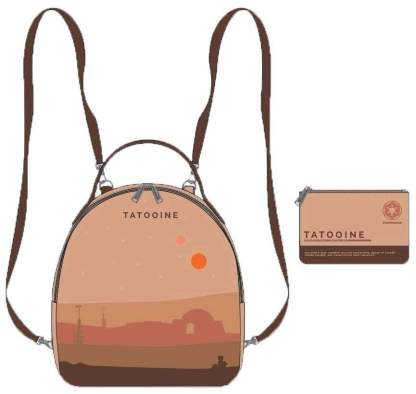 Image Star Wars - Tatooine Limited Edition Mini Backpack with Pouch