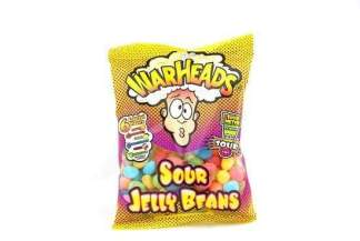 Image Warheads - Sour Jelly Beans Peg Bag
