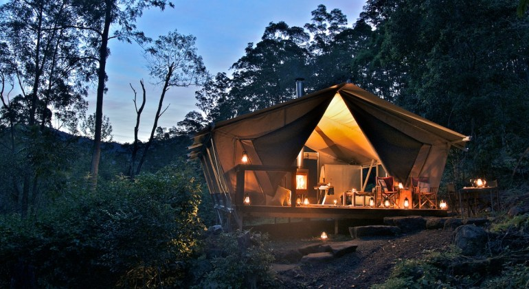 Glamping as a Wedding Gift Ideas