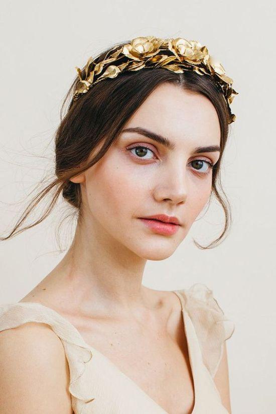 wedding hairs with tiara