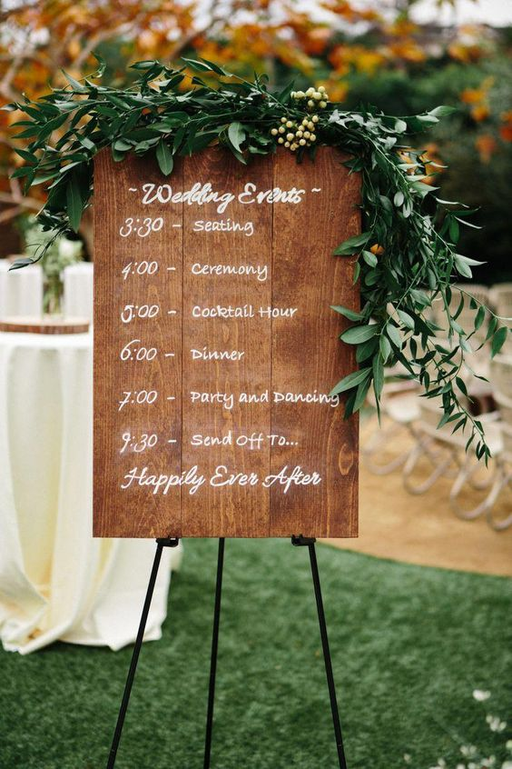 Wedding seating plan in process