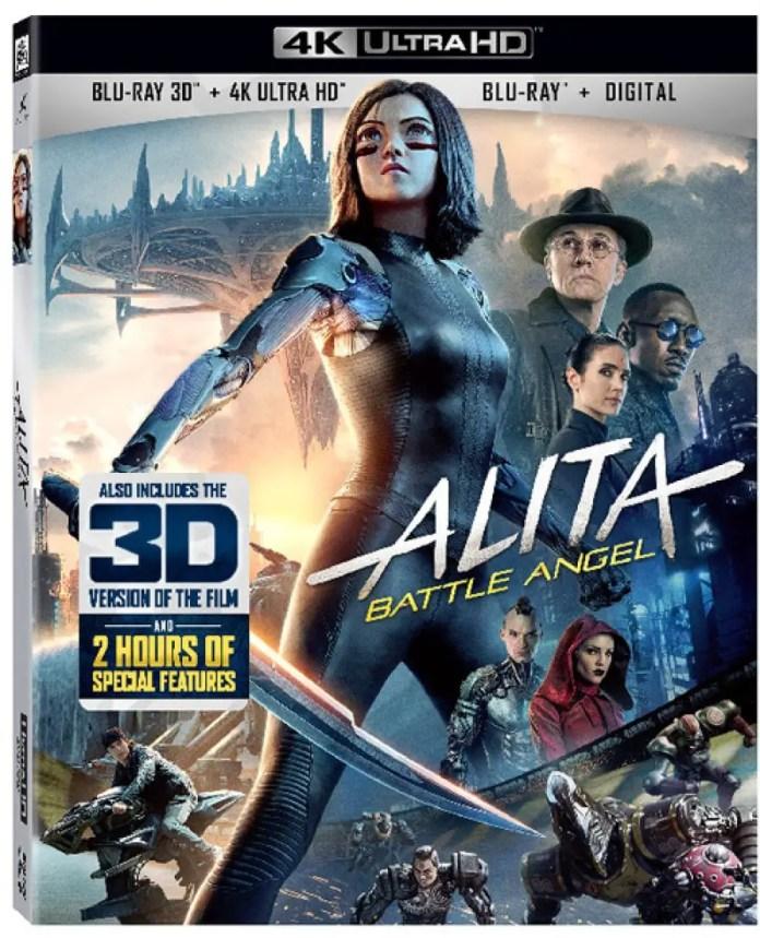 Alita 3D 4K Bluray