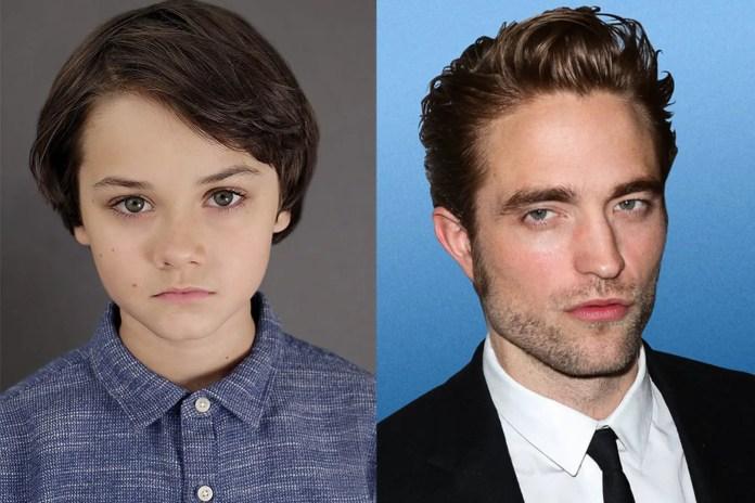 Left (Dante Pereira-Olson) Right (Robert Pattinson) the new Bruce Waynes