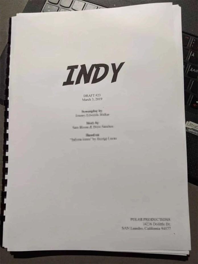 Non-binary Indiana Jones reboot script Indy