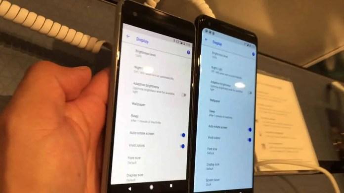 blue tint Google Pixel 3 XL