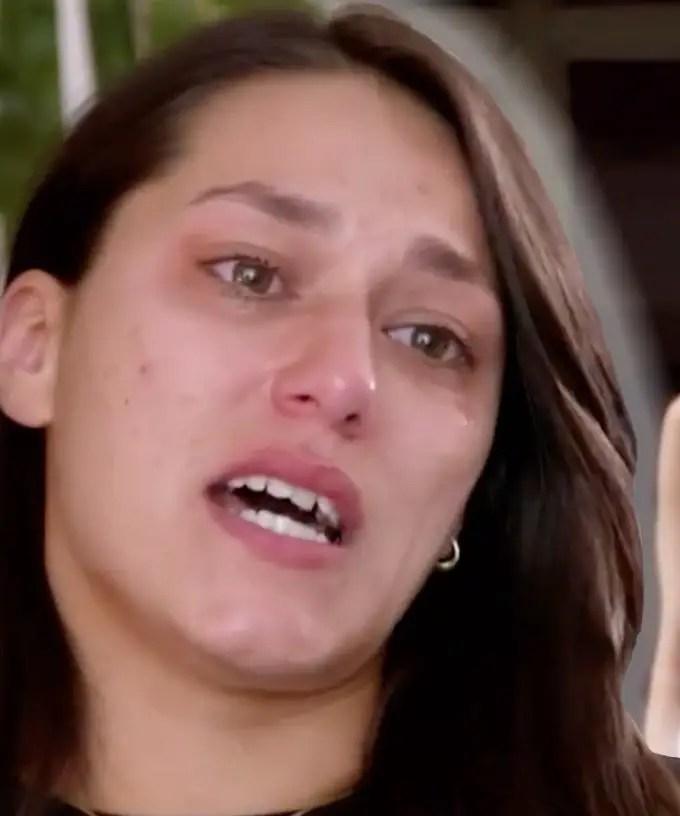 Connie Crayden crying