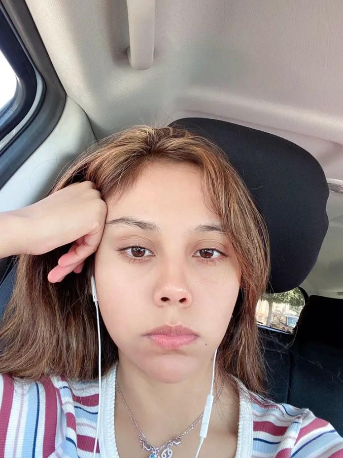 Neekolul fake no makeup selfie