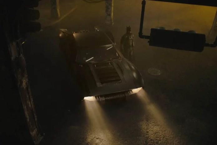 The Batman 2021 Bat mobile