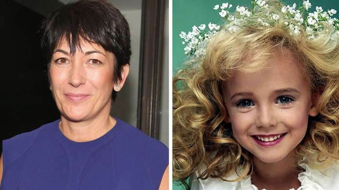 Ghislaine Maxwell spotted with JonBenet Ramsey
