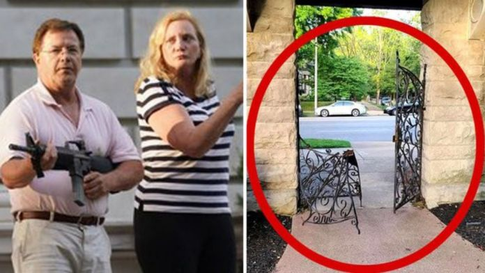 ABC Australia post fake news about Trump and gun wielding couple