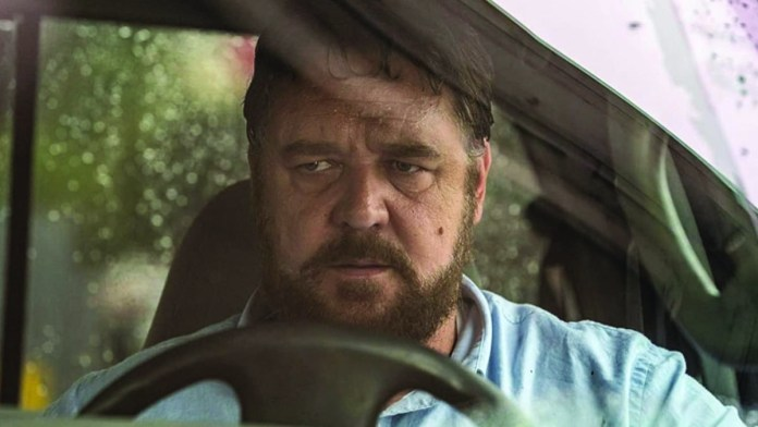 Russell Crowe goes UNHINGED in creepy promo for new movie