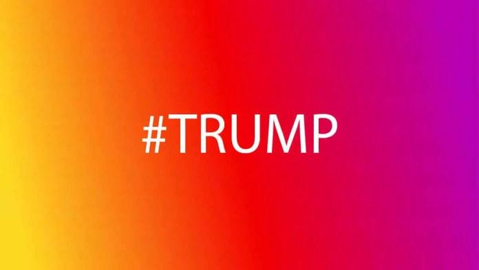 Instagram blocks #TRUMP hashtag to stop spread of