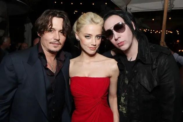 Depp, Heard, Manson