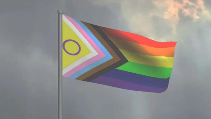 Pride flag 2021 redesign intersex