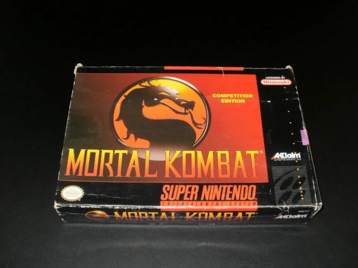 Mortal Kombat 1 SNES