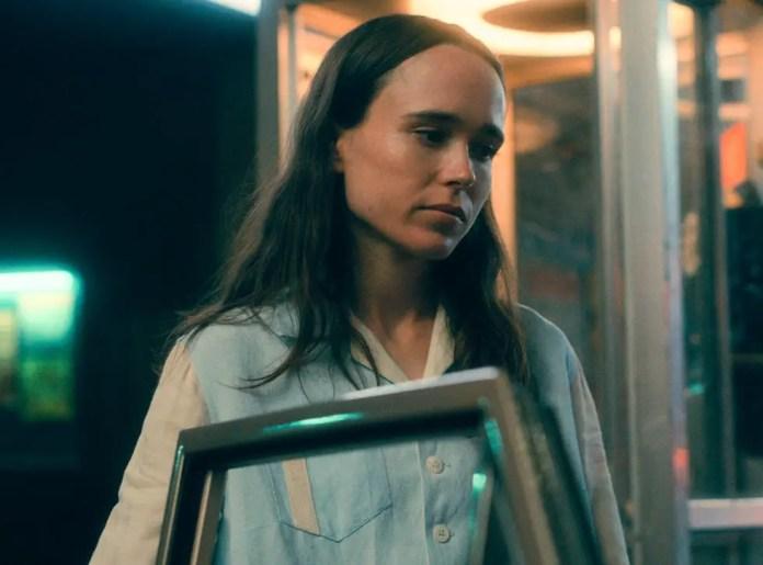 Elliot/Ellen Page as Vanya Hargreeves