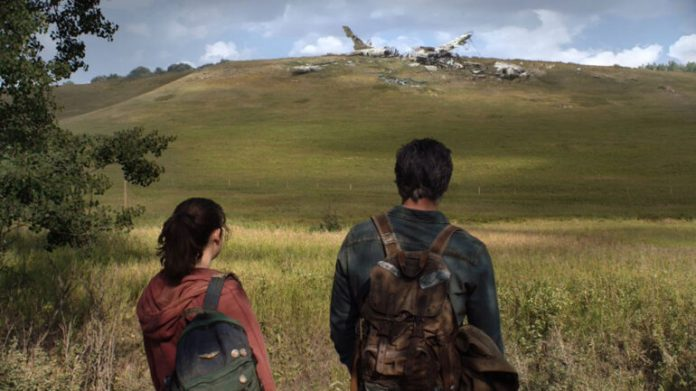Pascal and Ramsey in The Last of Us on HBO