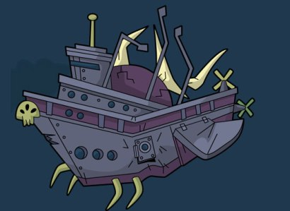 Ghost Ship: We're triangulating its position.