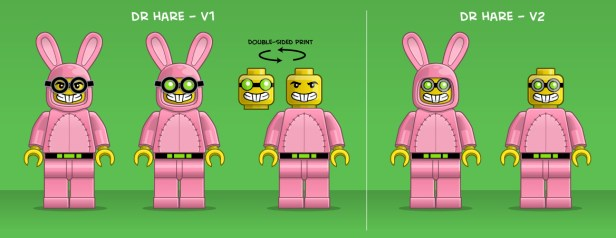 dr hare lego