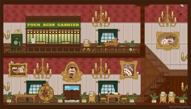 Casino Interior (Wild West Island)
