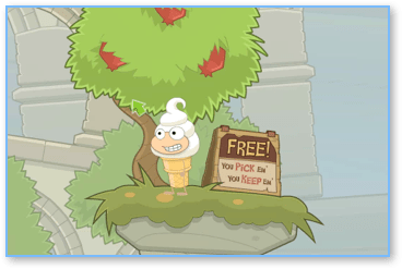 Pomegranate Tree in Poptropica