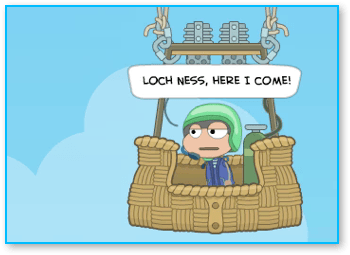 Balloon Guy in Poptropica