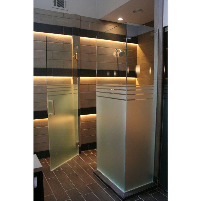 film aspect verre depoli pour salle de bains design 41