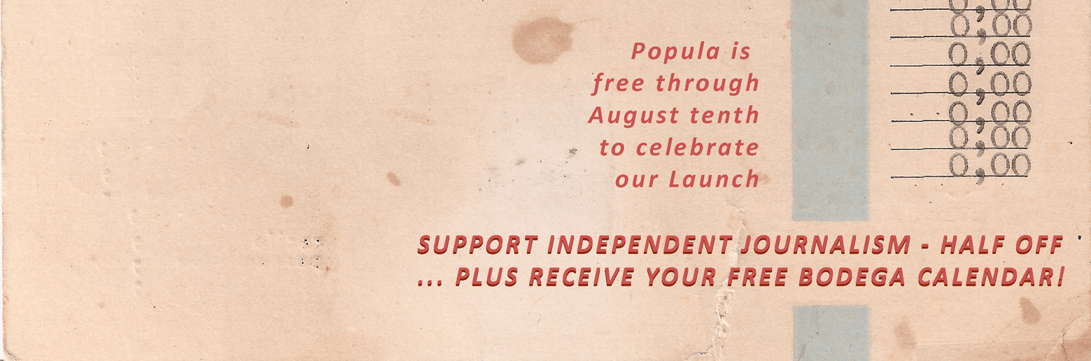 We're a 100% reader-supported publication: support us if you value independent voices