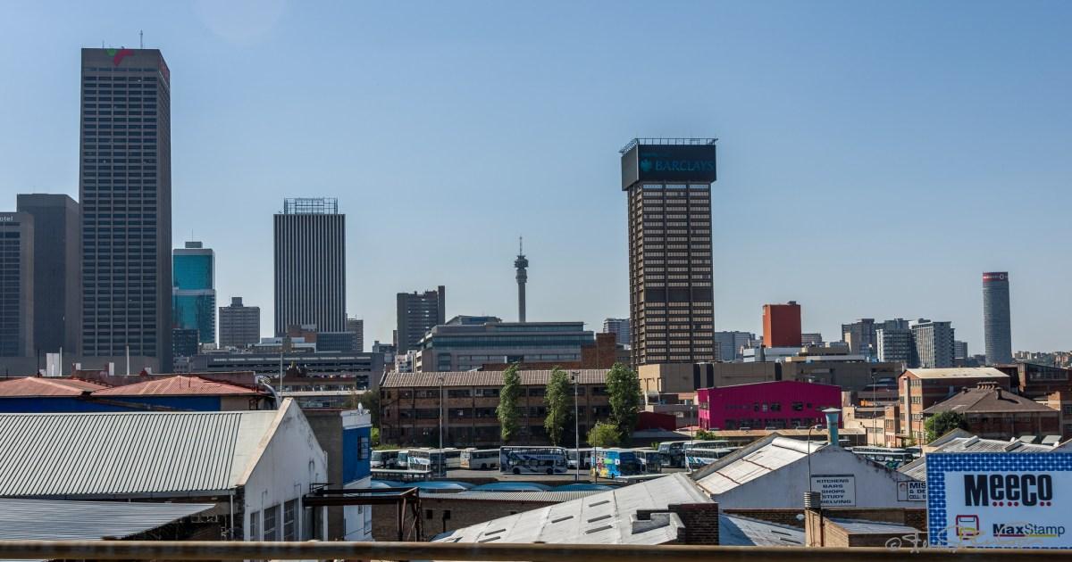 Finding Johannesburg. Losing Johannesburg.