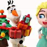 maxresdefault 22 - Disney Elsa's Magical Christmas: Frozen STOP MOTION Play doh Animation
