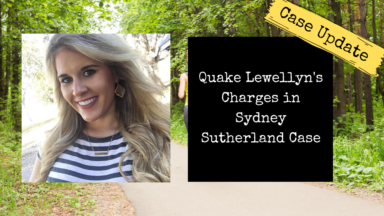 Quake Lewellyn Charged with Capital Murder, Rape and Kidnapping