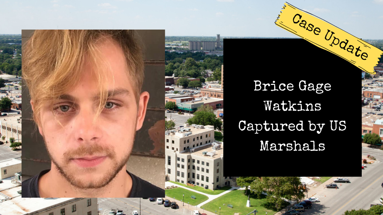Brice Gage Watkins Captured by US Marshals