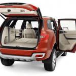 2020 Ford Everest Design